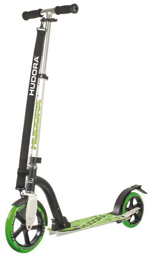 hudora big wheel stads scooter step kinderen green black. Black Bedroom Furniture Sets. Home Design Ideas